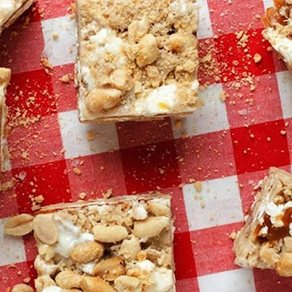 Salted Caramel Stuffed Chex® Cereal Treats