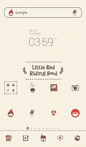 redhood pattern dodol theme