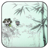 Bamboo Ninjia live wallpaper