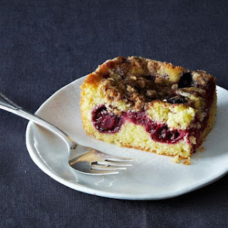 Blackberry Cornbread Buckle