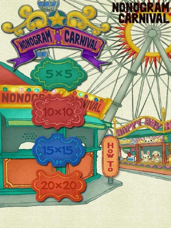 Nonogram-Carnival-Picross 16