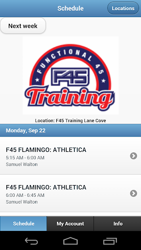 F45 Training Lane Cove
