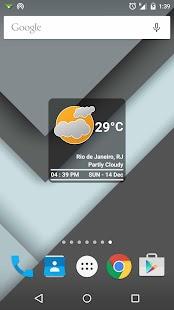 Boxy Clock +Weather - screenshot thumbnail