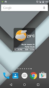 Boxy Clock Widget - screenshot thumbnail