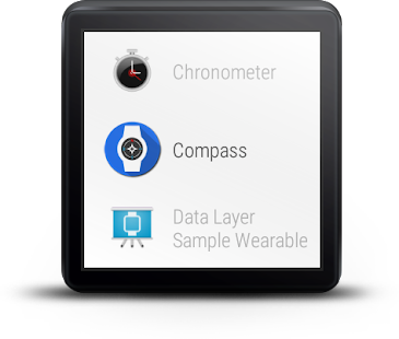 Compass For Android Wear- screenshot thumbnail