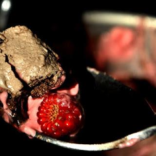 Raspberry Whipped Cream Chocolate Meringue Pie