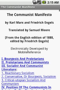 The Communist Manifesto - screenshot thumbnail
