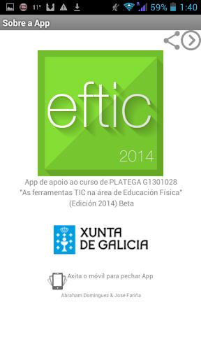EFTIC 2014: Platega
