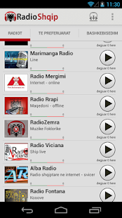 Radio Shqip - Albanian Radio - screenshot thumbnail