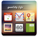 Quality Life GO Launcher Theme