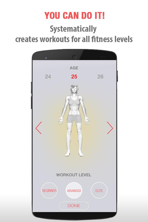 FitSpark Workout Guide Trainer- screenshot
