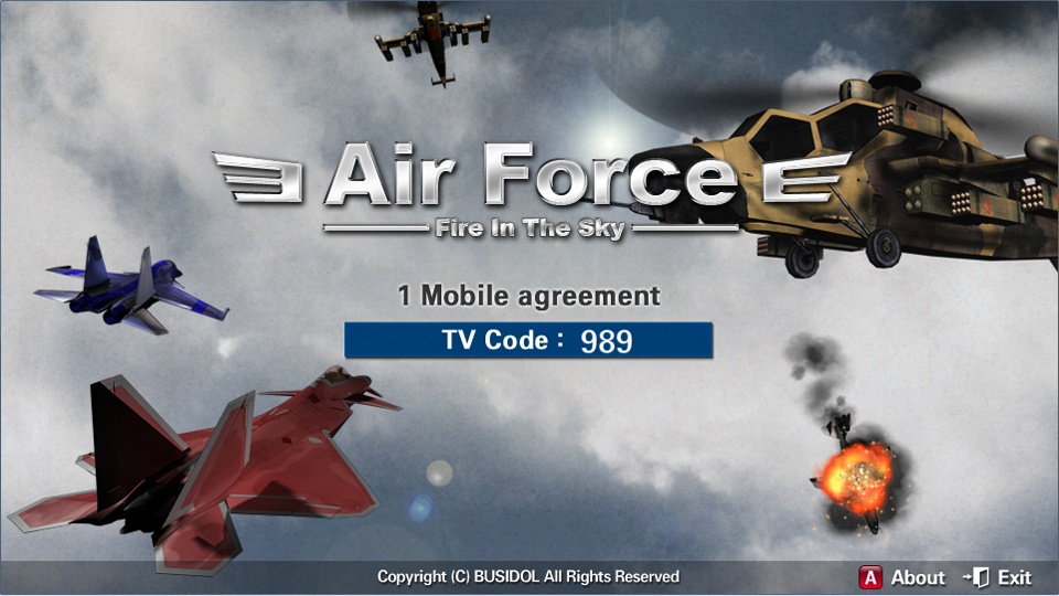 AirForce_Lite SamSung SmartTV- screenshot