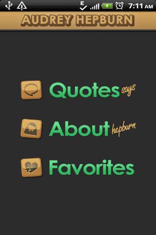Audrey Hepburn Quotes Says
