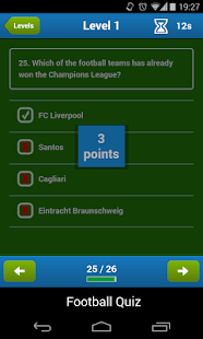 Football Quiz - screenshot thumbnail
