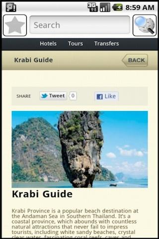 Krabi Travel Guide - screenshot