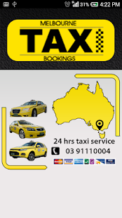 Melbourne Taxi Bookings- screenshot thumbnail