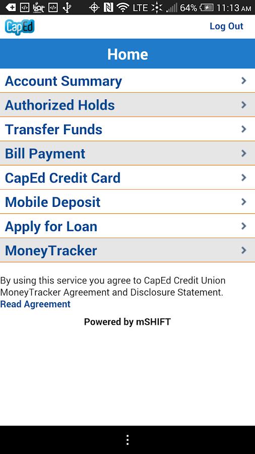 CapEd Mobile - screenshot