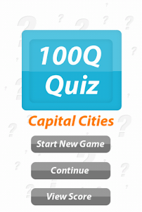 Capital Cities - 100Q Quiz- screenshot thumbnail