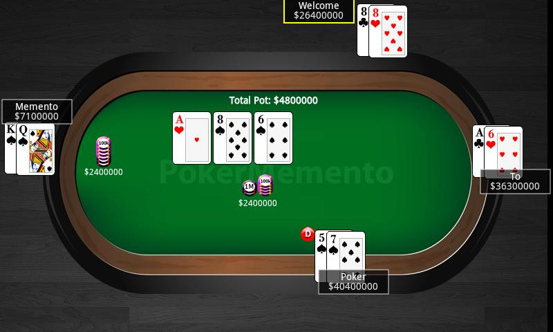 Poker Memento Replayer FREE- screenshot
