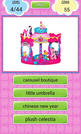 My Pony Toy Quiz