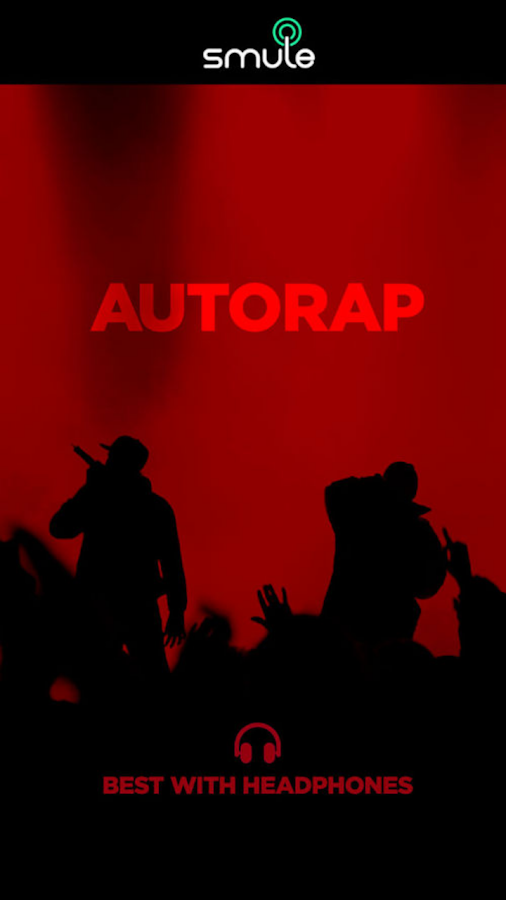AutoRap by Smule - screenshot
