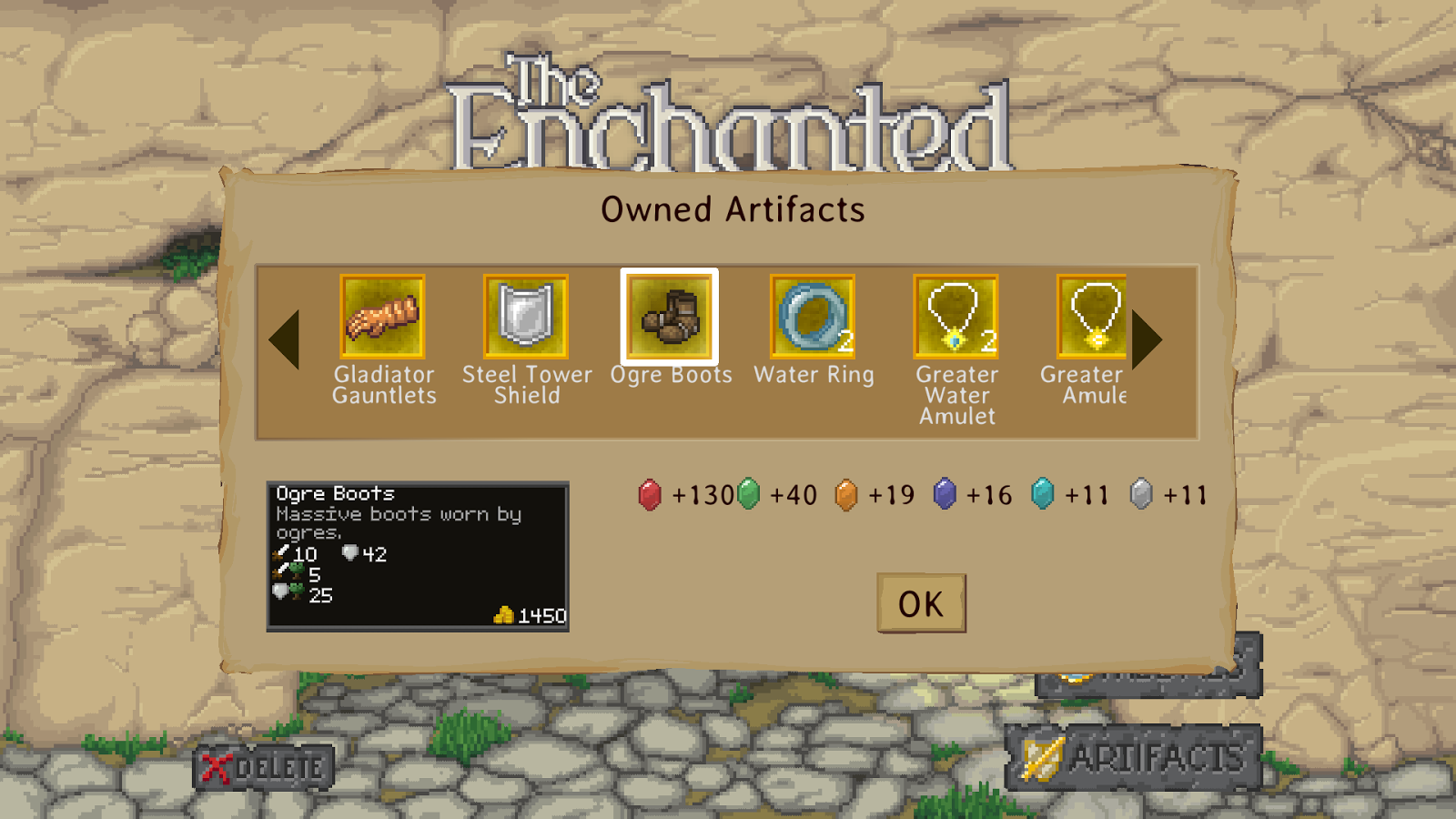The Enchanted Cave- screenshot