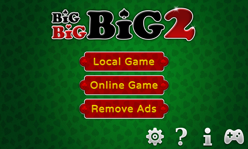 Big Big Big 2 (Free Card Game)- screenshot