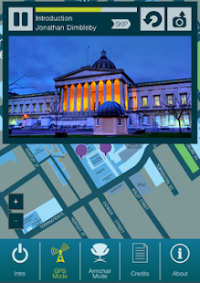 UCL Audio Tour- screenshot thumbnail