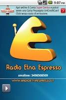 Screenshot of Radio Etna Espresso