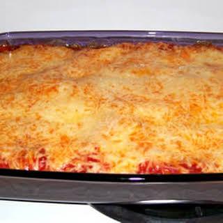Cheese Lovers' Lasagna.