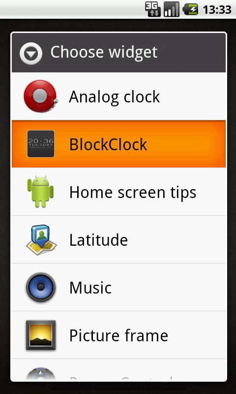 6DOT7 BLOCK CLOCK LITE- screenshot