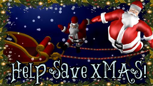 Stumbling Santa