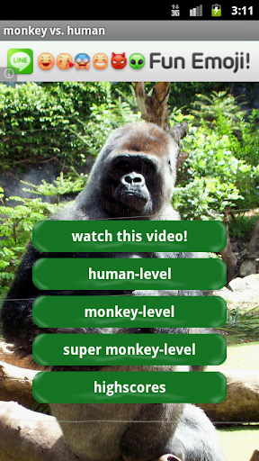 Monkey vs. Human