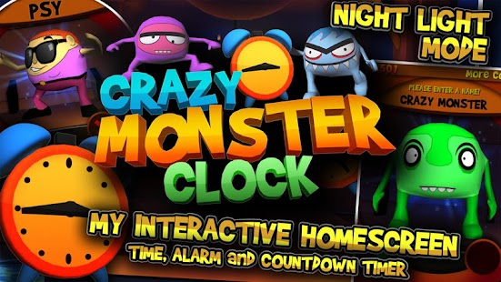 Crazy Monster Clock - screenshot thumbnail