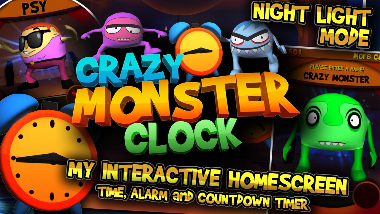 Crazy Monster Clock- screenshot