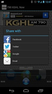 790 KGHL Now - screenshot thumbnail