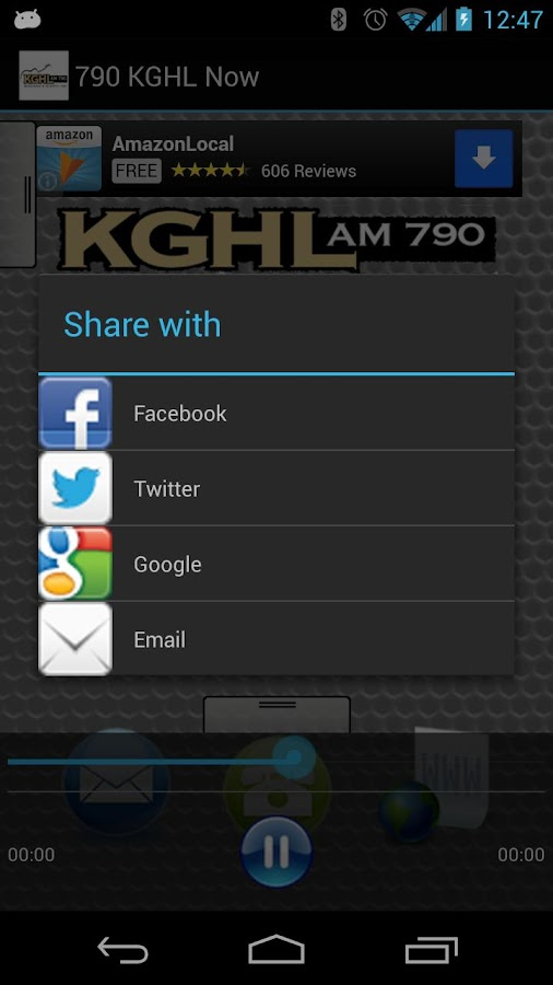 790 KGHL Now - screenshot