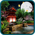 Eastern garden live wallpaper icon