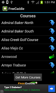 Free Golf GPS APP - FreeCaddie - screenshot thumbnail