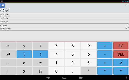 Scientific Calculator 3D Free - screenshot thumbnail