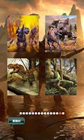 Screenshot of Dinosaurs Puzzles