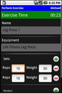 Workout Journal - screenshot thumbnail