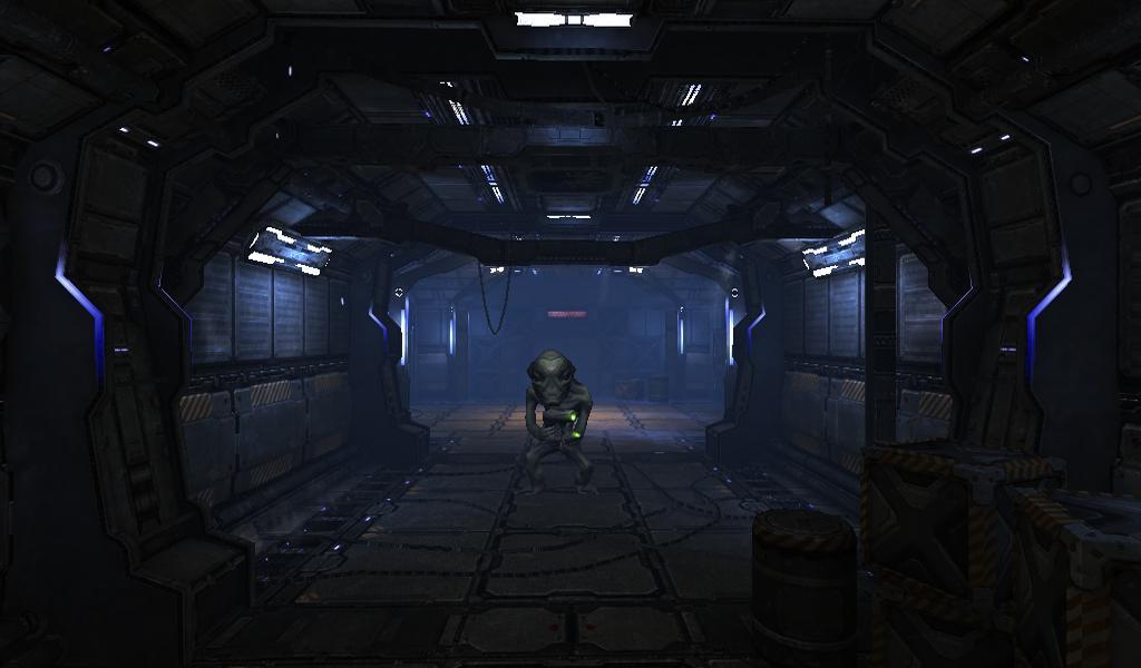 SCI-FI Corridor Live Wallpaper screenshots