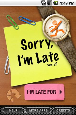 Sorry, I'm Late... - screenshot
