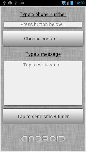Timer SMS