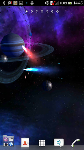 Gyroscopic 3D Color Deep Space