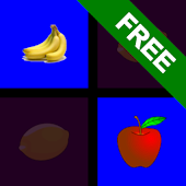 Memory Game: Fruit pairs match