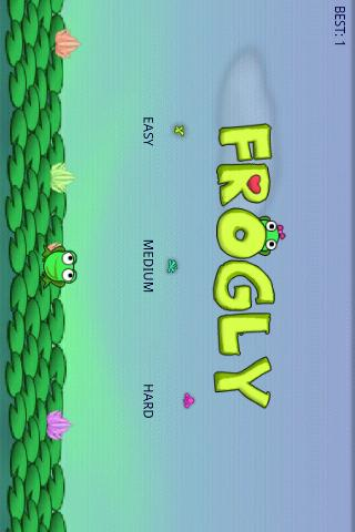 Frogly - screenshot