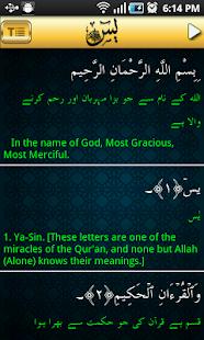 Surah YaSin Audio Urdu- screenshot thumbnail