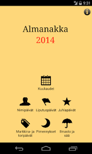 Almanakka 2014 - screenshot thumbnail